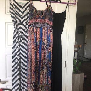 Bundle of 3 maxi dresses